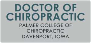 Doctorate of Chiropractic Palmer College of Chiropractic Davenport, Iowa